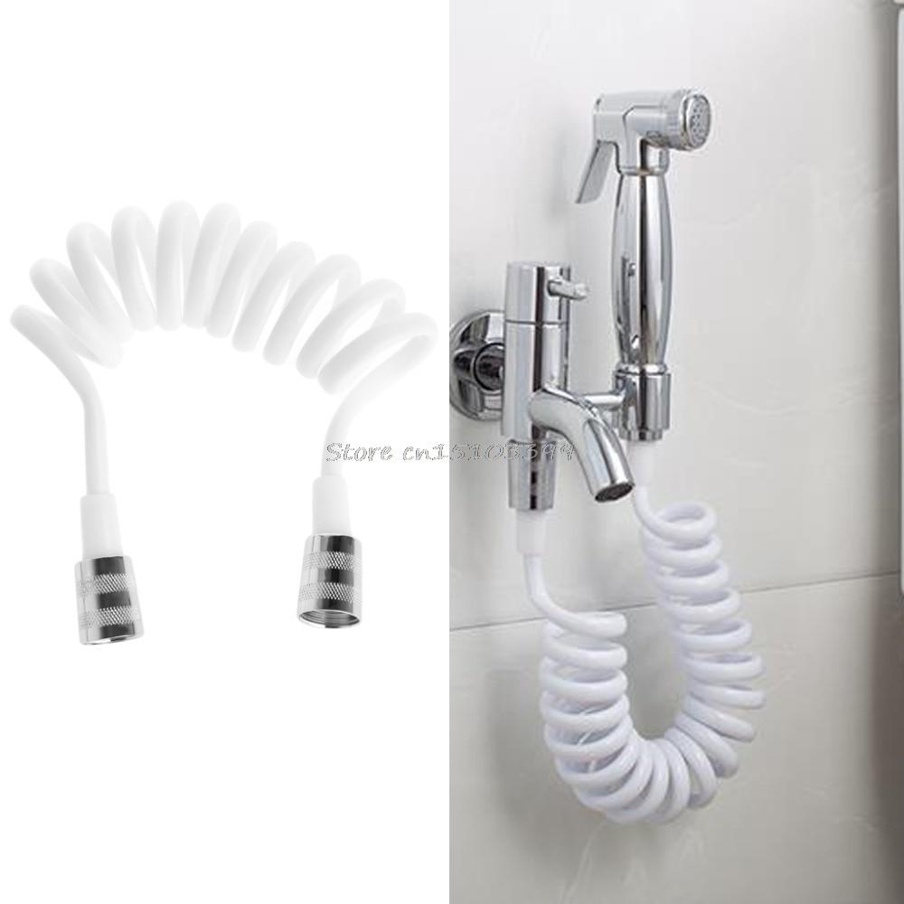 Flexible shower hose for water plumbing toilet bidet