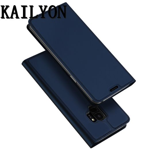 KAILYON New Luxury Wallet Leather Case For Samsung Galaxy S9 Stand Flip Cover Case For Samsung S9 Plus S 9 Phone Bags Cases S9