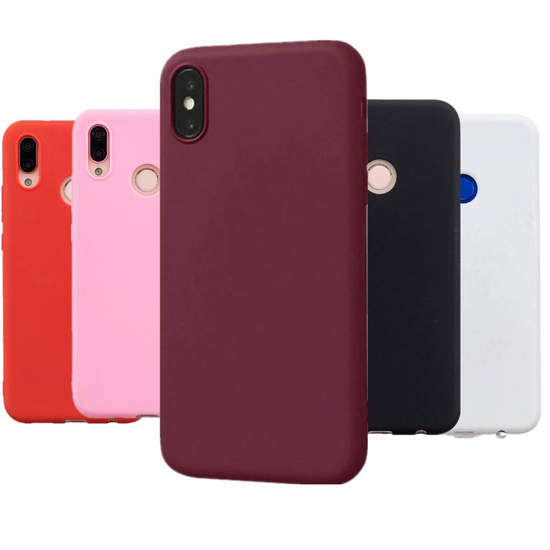 SCIOOT Full <font><b>360</b></font> Silicone For funda <font><b>Huawei</b></font> P20Lite Mate 10 Lite P Smart Cover for <font><b>Huawei</b></font> P30 P30 Lite 2019 <font><b>Y5</b></font> Y6 Y7 Prime Y9 <font><b>2018</b></font> image