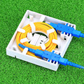 KELUSHI atacado painel de fibra FTTH FTTH fibra óptica terminal caixa de junção 86 painéis de informação 86 Área De Trabalho Caixa de 30 unidades/lotes