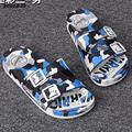 Zapatos de los hombres sandalias flip-flop del verano masculino transpirable Zapatillas de Playa EVA sandalias hombre hueco zapatos de camuflaje al aire libre y28