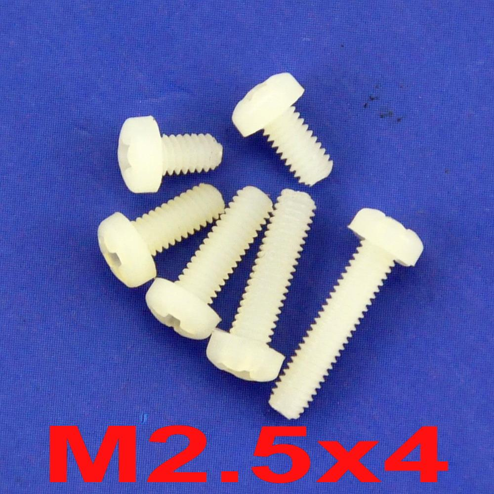 Nut Washer Assortment Kit. Electronics-Salon M2 M2.5 M3 M4 M5 Nylon Screw