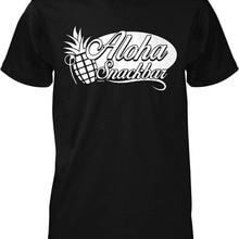 508e728326 T Shirt Quotes O-Neck Short Aloha Snackbar Men's T-shirt Design T Shirts  For Men 2018
