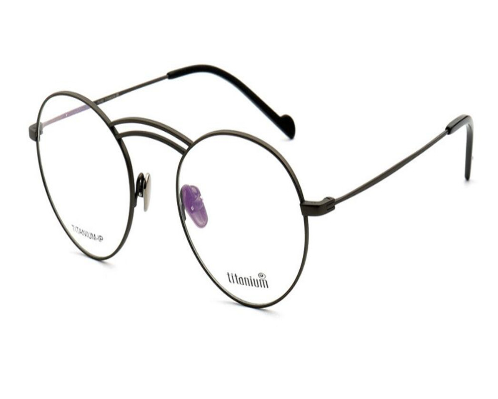 Brillen Vollrand Mode Klare Goggle Hohe Qualität Runde Linse Titan Ultraleicht Optische Rahmen Unisex Mongoten wgqzAZWII