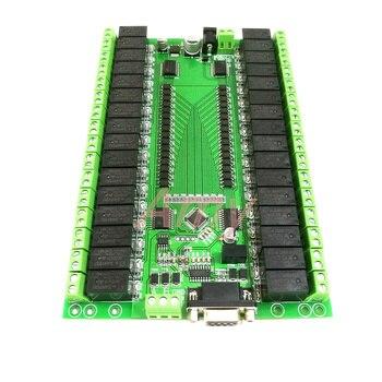 RS232/RS485 seriële poort controle 32 relais module schakelaar board IO board