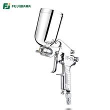 Fujiwara W 71C pneumático pistola de pulverizador verniz pistola altamente atomizada móveis, móveis de madeira arma de pulverizador do automóvel