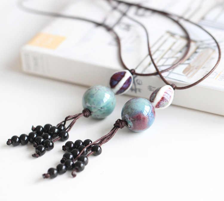 New hot fashion wanita kalung liontin grosir untuk wanita wanita hadiah kalung retro aksesori perhiasan #1082