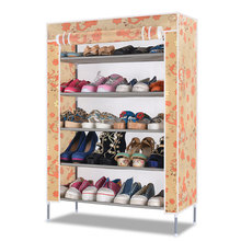 Oxford shoes simple and easy shoe rack multi-layer dust dormitory Specials