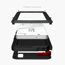 Amor Mei Original Para Xperia Sony Z5 Compacto Casos Covers Casos de Telefone à prova de choque de Metal de Alumínio de Volta Para Sony Z5 PREMIUN casos