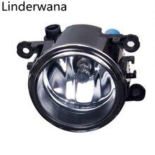 Противотуманная фара в сборе супер яркий противотуманный фонарь для Dacia Duster Logan Sandero 2004-2015 Галогенные Противотуманные фары 1 комплект