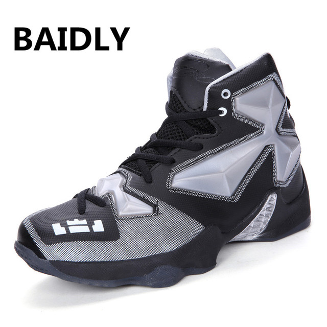 Big Size Lovers Basketball Shoes Men New Arrival High Top Cushioning Original Basketball Sneakers Women Outdoor Sneakers