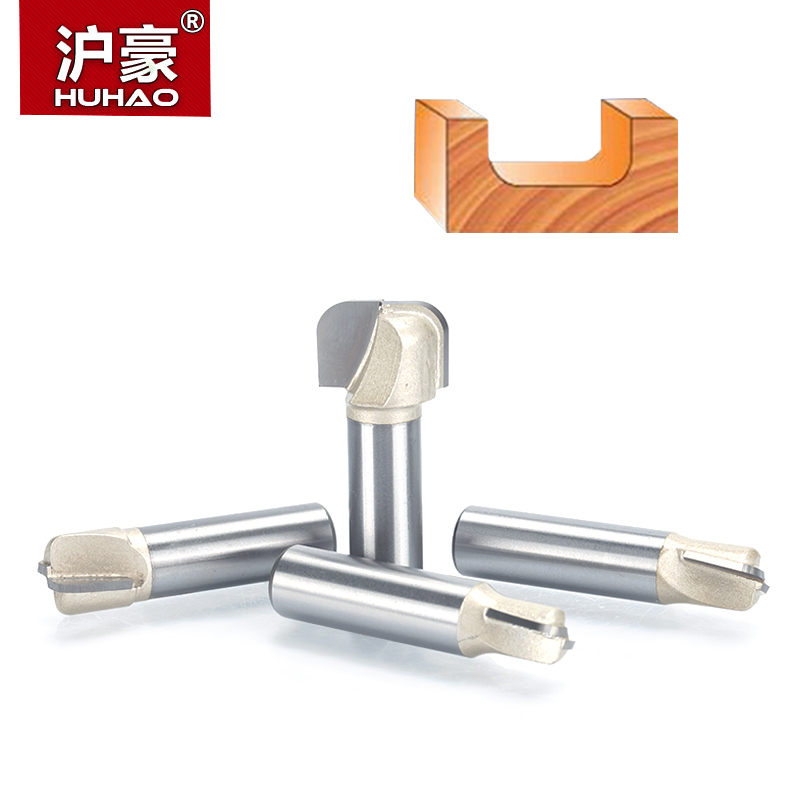 HUHAO 1pcs 1/2 Shank Bowl & Tray Template Router Bit Tungsten Carbide endmill For Woodworking Cutting Tool wood milling cutter huhao 1pcs 1 2 1 4 shank classical router bits for wood tungsten carbide woodworking endmill tools classical mounlding bit