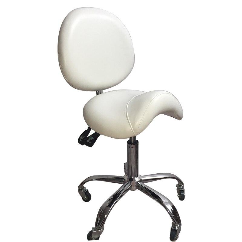Купить с кэшбэком Beauty Chair Bar Chair Beauty Chair Backrest stool Rotary Lift Bar Chair High-legged Round Bar stool Bar stool