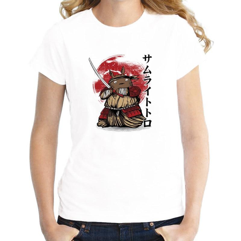 Totoro New Style design t shirt female girl kawaii funny t ...