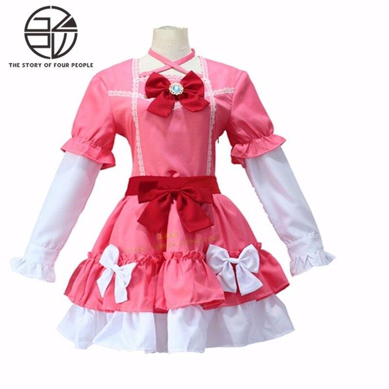Аниме Ямада эльфы форма Косплэй костюмы полный милые платье в стиле «Лолита» фантазии вечерние show платья S-XL