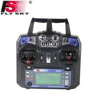 Flysky FS-i6 FS I6 2.4 그램 6ch RC 송신기 컨트롤러 FS-iA6 또는 FS-iA6B 수신기 RC 헬기 비행기 쿼드 콥터