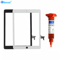 Netcosy For IPad Air Touchscreen Black White Touch Screen Digitizer Panel Repair For IPad 5 Panel