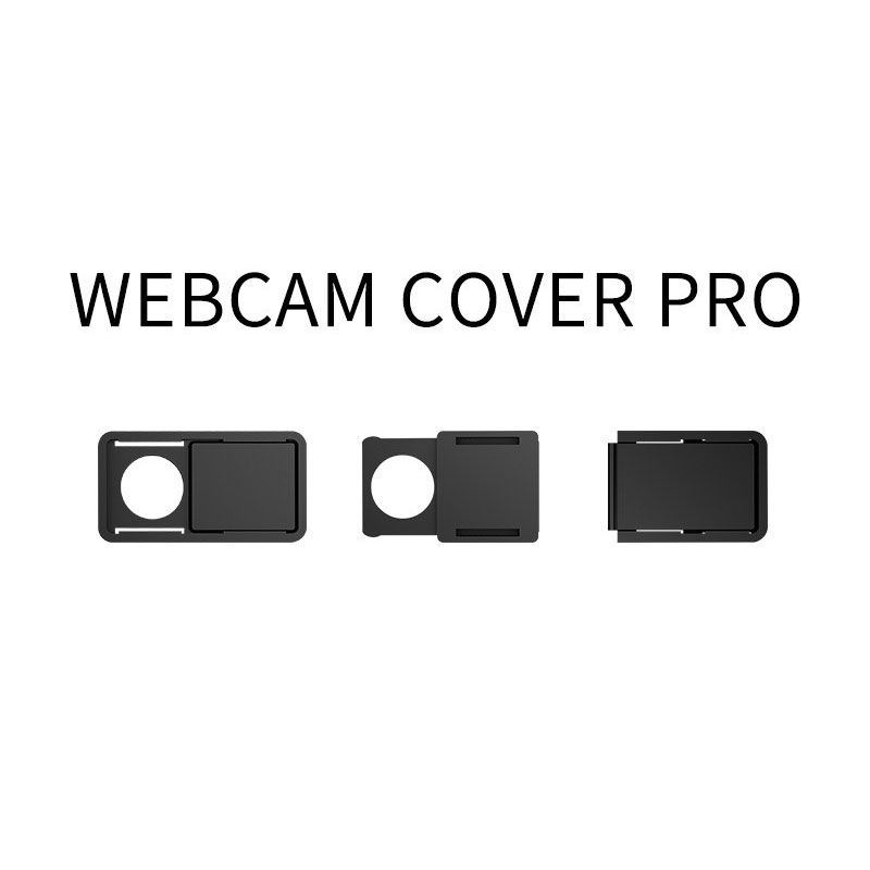 3Pcs Webcam Camera Shutter Cover Magnet Slider Plastic Cover For iPhone Thin Lens Privacy Protector For iPad PC Mac Notebook image
