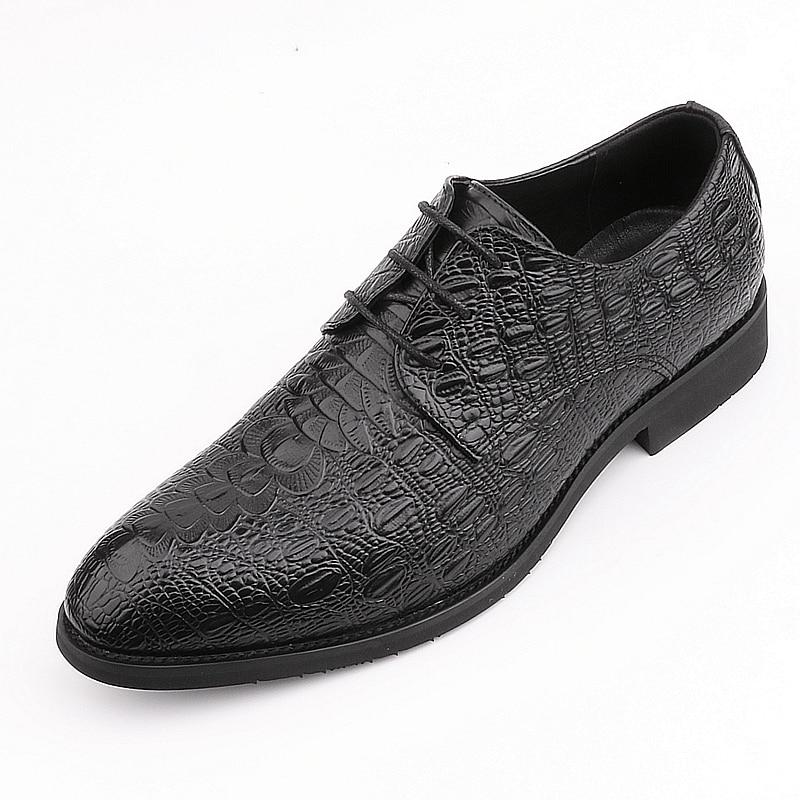 De Originais Designer Couro Sapatas Sapatos Sapato Preto Formal Casamento 2019 Homens Vinho Escritório Primavera Qualidade vermelho Decente Oxfords Vestido Masculinos Dos Top wnYwpEtq