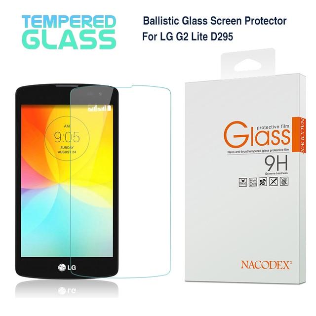 For LG G2 Lite L Fino Nacodex Premium Tempered Glass Screen Protector Pantalla Pelicula
