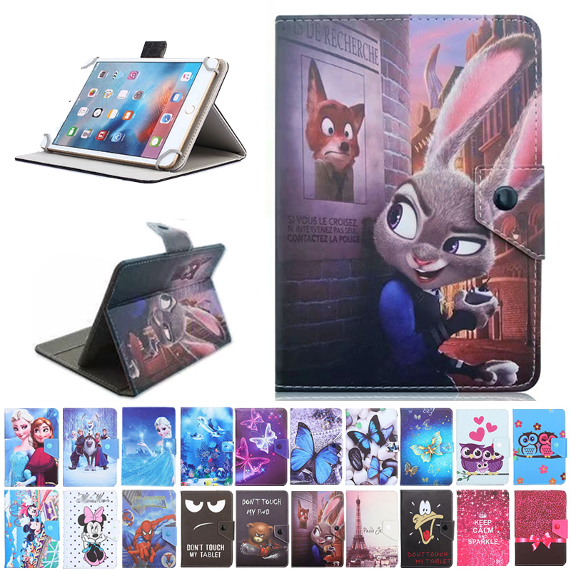 PU Leather Case For Digma CITI 1903 4G 10.1 Inch Tablet Folio Stand Protective Cover+ Touch Pen Gifts