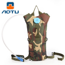 NEW 2019 Outdoor Water bag suit water bag camouflage Hiking Camp contains 2.5L water tank climbing cycling water  shoulders bag цена и фото