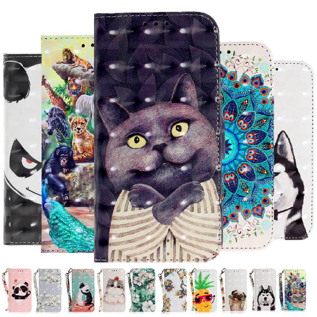 Luxury Flip Wallet Case for iPhone X 5 SE 5S 6 6S 7 8 Plus Book Style PU Leather Phone Cases for iPhone X 5 SE 5S 6 6S 7 8 Plus
