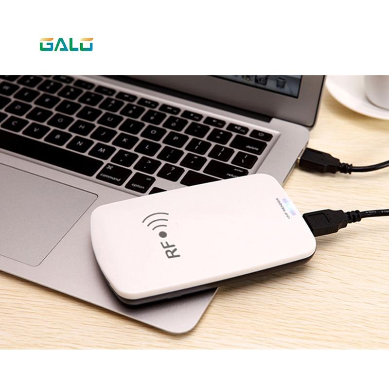 Encodeur de lecteur de carte de bureau USB RFID UHF 902 Mhz-928 Mhz 865 MHz-868 MHz avec logiciel anglais gratuit échantillon de test de carte rfid uhf