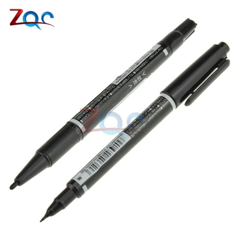 5PCS CCL Anti-etching PCB Circuit Board Ink Marker Double Pen For DIY PCB Repair CCL Printed Circuit Diagram