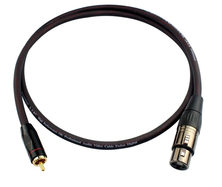 hot high quality male rca to xlr 3 pin female audio cable for shielded audio speaker microphone. Black Bedroom Furniture Sets. Home Design Ideas