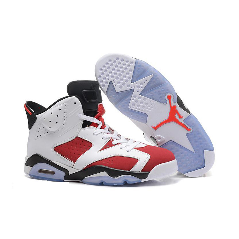 Jordan Air Retro 6 Men Basketball shoes Infrared Oreo WhiteInfared-Black Olympic Carmine Athletic Outdoor Sport Sneakers 41-46 2017brand sport mesh men running shoes athletic sneakers air breath increased within zapatillas deportivas trainers couple shoes
