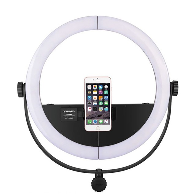 watch 65382 c258e US $142.0 15% OFF|YONGNUO LED YN508S LED video light for iPhone X Samsung  Mobile Photography Dimmable Ring light with U type Bracket Lamp Makeup-in  ...