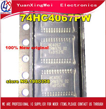 Free Shipping 50pcs New and original  74HC4067PW 74HC4067 SN74HC4067PW TSSOP24 Spot stock