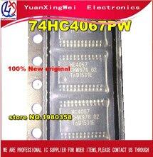 Freies Verschiffen 50 stücke Neue und original 74HC4067PW 74HC4067 SN74HC4067PW TSSOP24 Spot lager