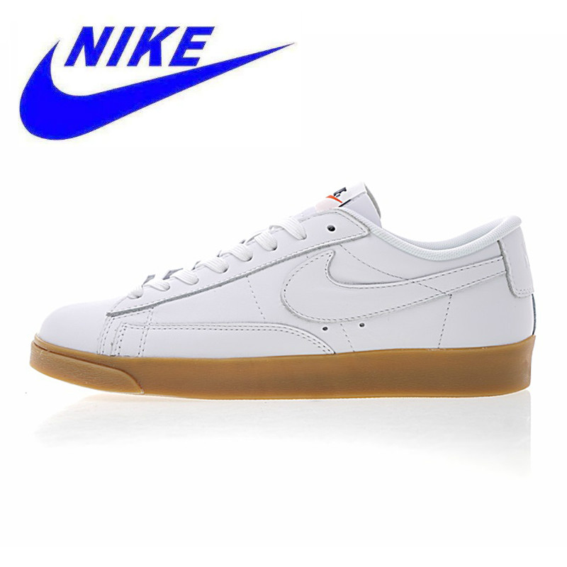 wholesale dealer 95320 1dd0e Nike Blazer Low Premium Mens and Womens Walking Shoes, White, Original  Lightweight Wear-resistant Breathable 454471 103