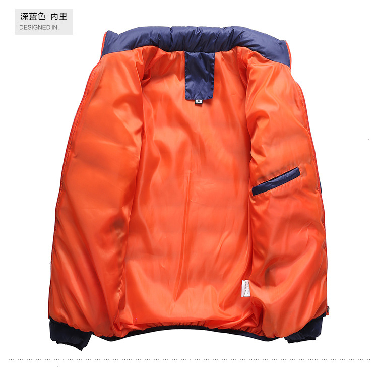 Winter Jacket Men 2019 Fashion Stand Collar Male Parka Jacket Mens Solid Thick Jackets and Coats Man Winter Parkas M-6XL 26