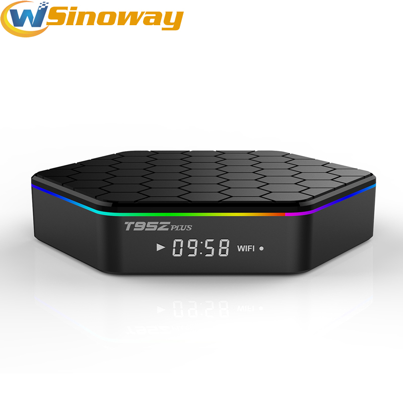 Prix pour T95Z Plus Android 6.0 tv box Smart Box Amlogic S912 Octa Core 4 K x 2 K H.265 Décodage 2.4G + 5G Double Bande WiFi Media Player BT
