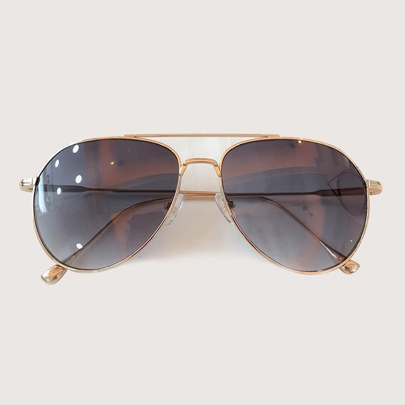 Retro Pilot Sonnenbrille Männer Frauen Mode Sonnenbrillen Kleidung Zubehör gafas de sol hombre - 6