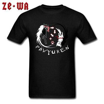 Funny Novely T Shirts PAW YUKEN Black And White Cat Yin Yang Taekwondo Comic Anime Fashion Tops T-Shirt Summer Sweatshirt