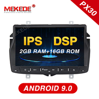 For Russia Lada!Android9.0 for Lada Vesta Car Radio Navi GPS navigation player support 4G WiFi Bluetooth DSP function IPS screen