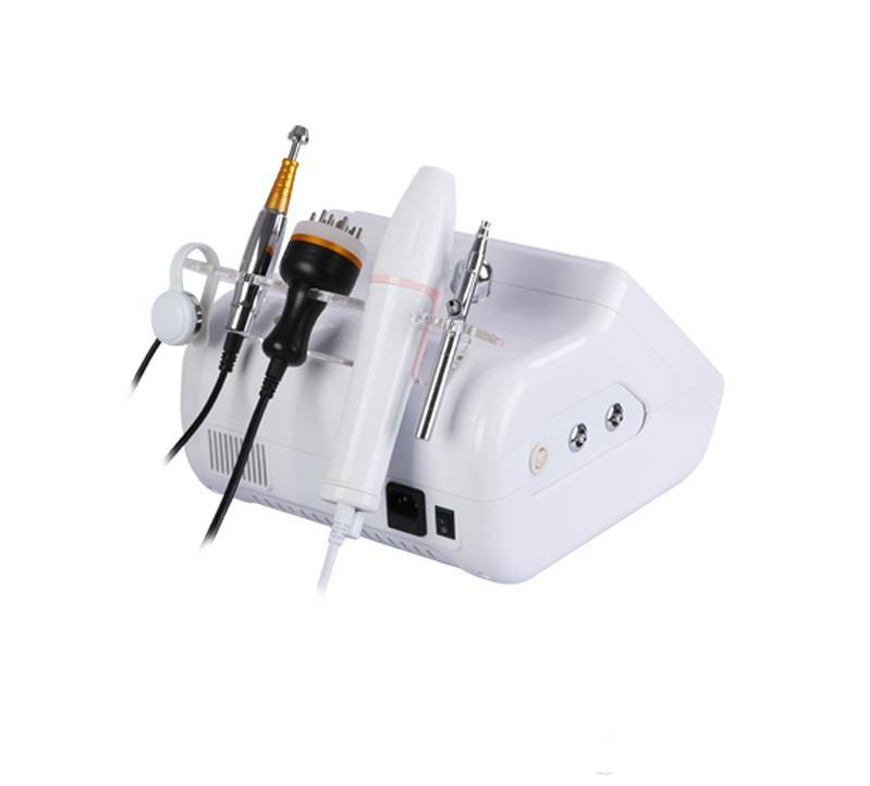2019 Chegada Nova!! 3 em 1 Pro High Frequency Máquina BIO Microcorrente Tratamento Pulverizador Do Crescimento Do Cabelo Pente Cuidado do couro cabeludo - 3
