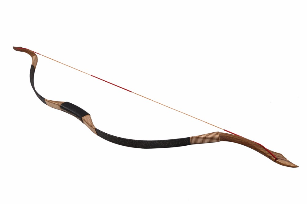 Traditional Archery Hunting Recurve Bow Handcraft Wooden Laminated 30lbs For Hunting