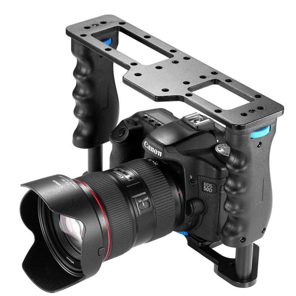 Neewer Aluminum Alloy Film Movie Making Camera Video Cage For Canon 5D/700D/600D/Nikon D7200/D7100/D7000/D5200/D5100/Sony A7/A7R