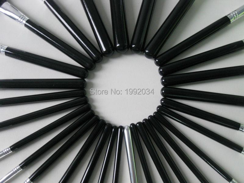 29pcs Black Silver Brush Set22
