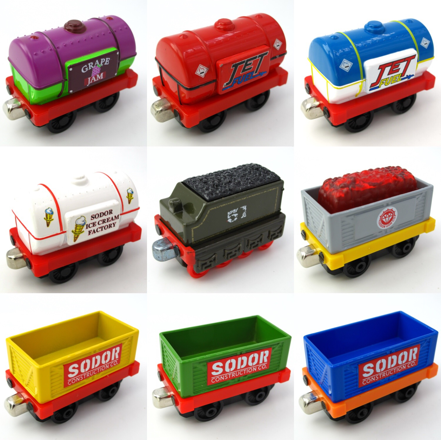 Diecasts Vehicles Thomas T142D OilTank Thomas And Friends Magnetic Tomas Truck Car Locomotive Engine Railway Train Toys for Boys