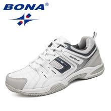 BONA/Новое поступление; классические стильные мужские теннисные туфли; уличные беговые кроссовки на шнуровке; Мужская Спортивная обувь;