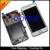 Frete grátis rastreamento No.4.3 ' testado Original para Samsung Galaxy S2 i9100 LCD digitador assembléia com quadro branco / preto