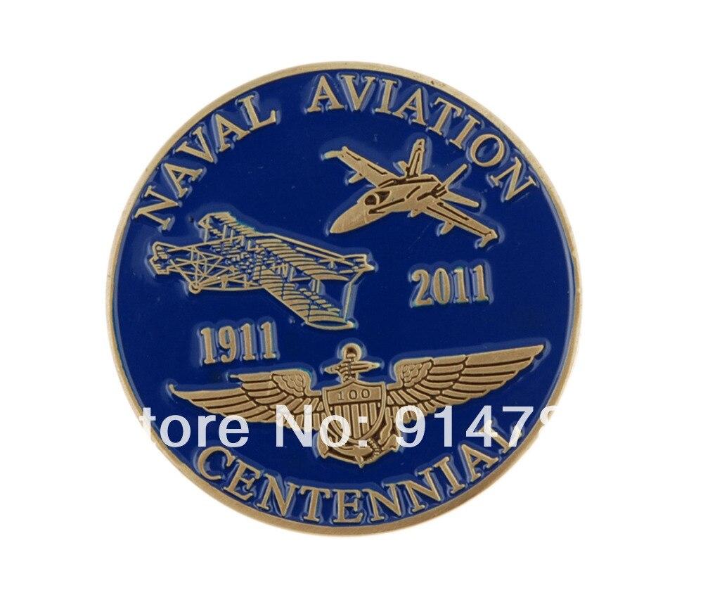 US NAVAL AVIATION CENTENNIAL MMXI CHALLENGE COIN-34011