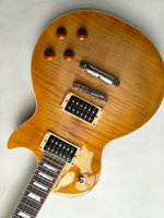 Factory Direct High Quality LP Guitar Classic Brown LP Standard Electric Guitar Tiger Striped Maple Guitar