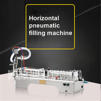 G1WY Liquid Filling Machine Semi Automatic Pneumatic Filler Glycerinum Oil Shampoo Water Pump Lubricant Filling Piston